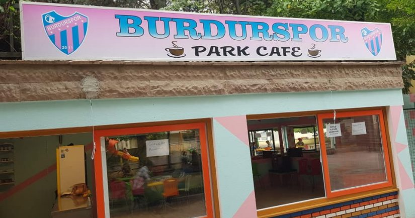 Burdurspor park cafe